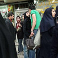 Iran's Modesty Police in action Photo: AP