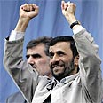 'Like Hitler in his time.'  Ahmadinejad Photo :AP