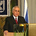 President Katsav Photo: Gil Yochanan
