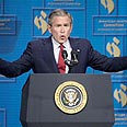 'US demonstrating consistently obstinate approach toward Hamas.' Bush Photo: AFP