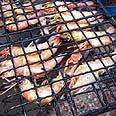 Kosher shrimp Photo: Ron Shpaz Cohen