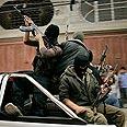 Al-Aqsa Martyrs Brigades members Photo: Reuters
