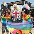 Pride parade in Eilat Photo: Meir Ohayon