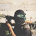 Palestinian gunman Photo: AP
