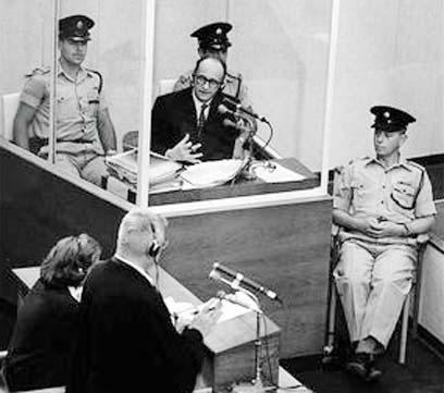 Eichmann's trial in Israel (Photo: PLO)