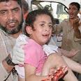 Girl taken to hospital Photo: AP