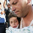 Boy injured in explosion to receive treatment in Israel Photo: AP
