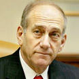 Olmert. 'Convinced that time is working against us' Photo: AP