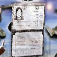 Asheri's ID card as it was presented Wednesday Photo: Reuters