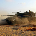 Tank in Gaza (Archive) Photo: Niv Calderon