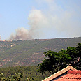 Fire in Lebanon Photo: Roee Segali