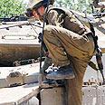 Soldier in northern border Photo: Ahiya Raved