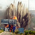 Israeli air strike in Lebanon Photo: Reuters