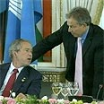 Blair and Bush: Special relationship made too special? Photo: AP