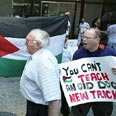 Anti-Israel protest in Chicago Photo: AP