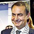 Committed to settling Mideast conflict. Spanish PM Zapatero (archive photo) Photo: AP