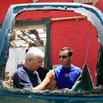 Rocket hits carpentry shop Tzafrir Abayov
