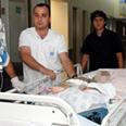 Ramabm's pediatric ICU evacuated to basement Photo: Doron Golan