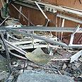 Nahariya hospital's ophthalmology department hit by rocket Photo: Raanan Ben-Zur