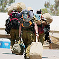Reservists off to last summer's war Photo: IDF Spokesperson Unit