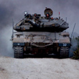 Merkava directly hit Photo: IDF
