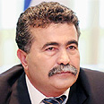 Defense Minister Amir Peretz Photo: Eli Elgarat
