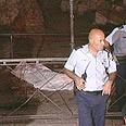 Scene of the stabbing Photo: AP