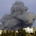 IAF attack in Tyre Photo: AFP
