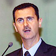 Syrian President Bashar Assad. 'Stood by Palestinians' Photo: AFP
