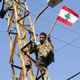 First time in 40 years Lebanese army is in south Photo: AFP