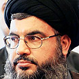 Lowering tone: Hassan Nasrallah Photo: AP