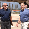 Olmert in Nahariya Photo: GPO