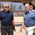 Olmert in Nahariya Photo: GPO