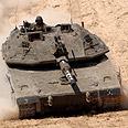 Merkava 4 tank (archives) Photo: Shalom Bar-Tal