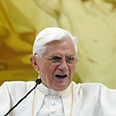 Pope Benedictus: Forgiven Photo: AFP