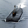 Russian nuclear powered submarine (archives) Photo: AP