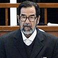Saddam in court (archive photo) Photo: AP
