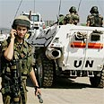 UN forces in Lebanon Photo: AP