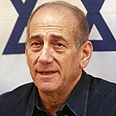 PM Ehud Olmert Photo: Yoav Galai