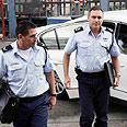 Police representatives Photo: Haim Zach