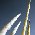 Shihab 3 missiles test. They can reach Israel Photo: AP