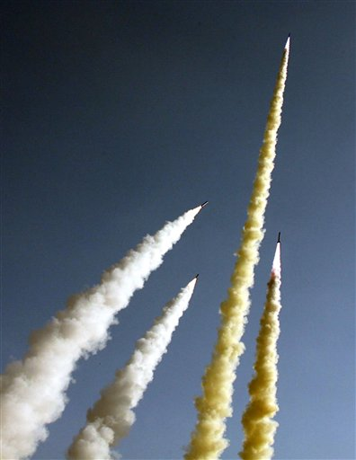 Iranian missile test. A number of tough days (Photo: AP)