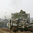 IDF force in Beit Hanoun Photo: Reuters