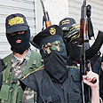 Islamic Jihad gunmen in Gaza (Archive photo) Photo: AP