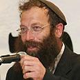 Extreme right-wing activist Baruch Marzel Photo: Gil Yochanan
