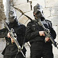 Gunmen in Nablus Photo: Reuters