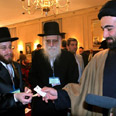 Neturei Karta at Tehran conference Photo: AP