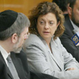 Education Minister Yuli Tamir in Education Committee meeting (Archive photo) Photo: Gil Yohanan