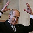 Olmert, willing to part with 'many' territories Photo: AFP