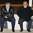 Haniyeh (L) waits at Egyptian side of Rafah crossing Photo: Reuters
